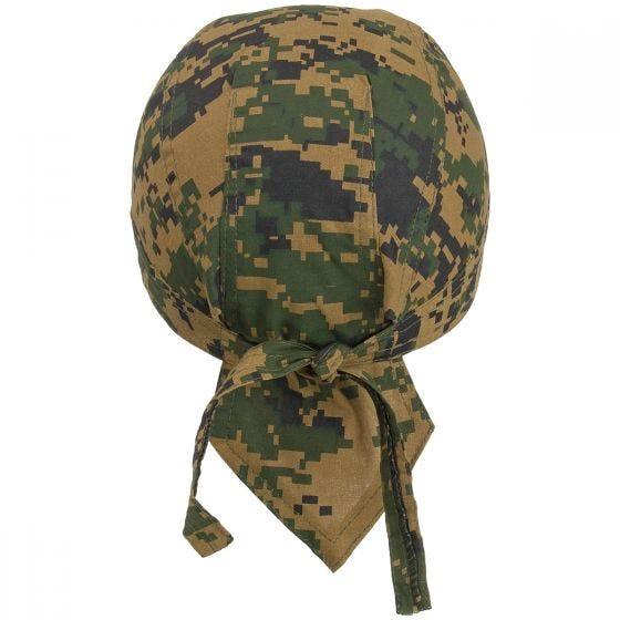 MFH Headwrap Digital Woodland