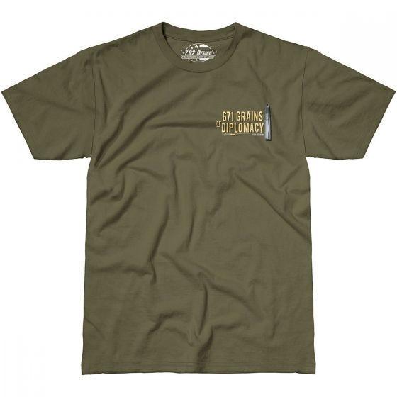 7.62 Design Sniper Team T-Shirt Military Green