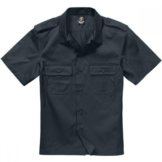 Brandit US Shirt Short Sleeve Black