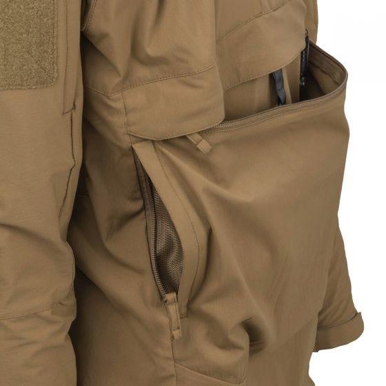Helikon Anorak Mistral Soft Shell Jacket Mud Brown
