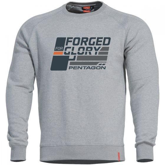 Pentagon Hawk Sweater Forged for Glory Melange