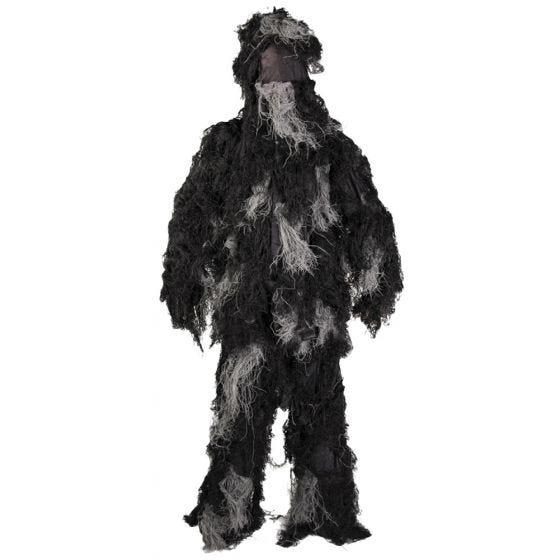 Mil-Tec Ghillie Suit Anti-Fire Basic Night Camo