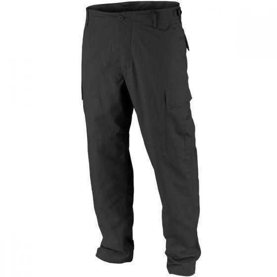 Teesar BDU Trousers Ripstop Black