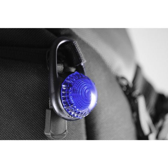 Adventure Lights Guardian Tag-It Clip-On Light Blue