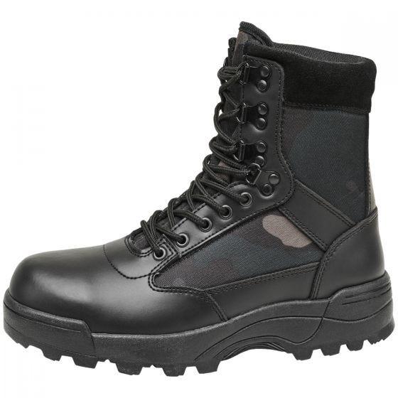 Brandit Tactical Boots Dark Camo