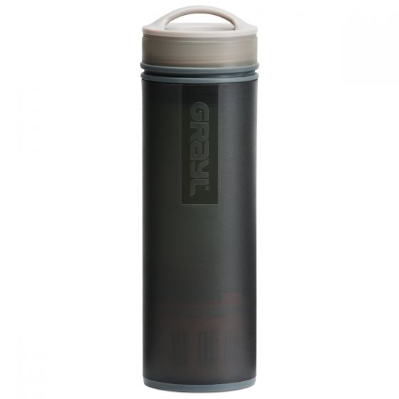 GRAYL Ultralight Water Purifier Bottle + Filter Black