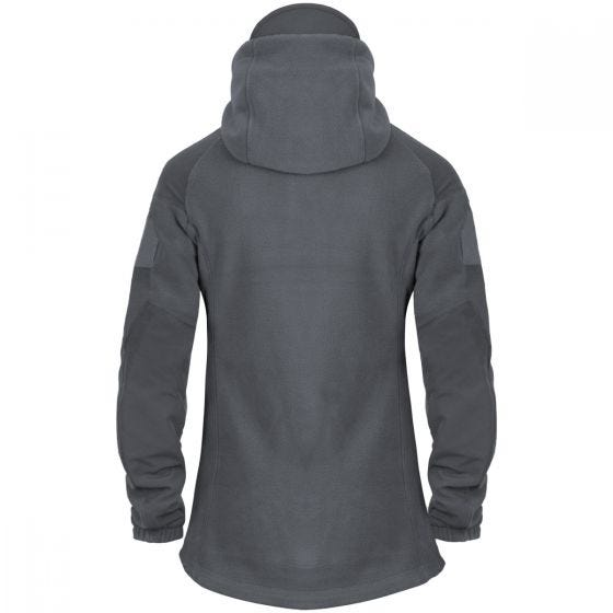 Helikon Womens Cumulus Heavy Fleece Jacket Shadow Grey