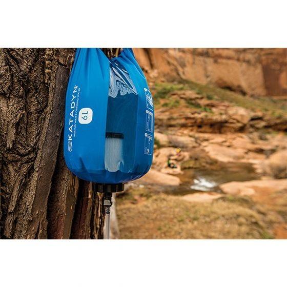 Katadyn Gravity Camp 6L Water Filter Blue