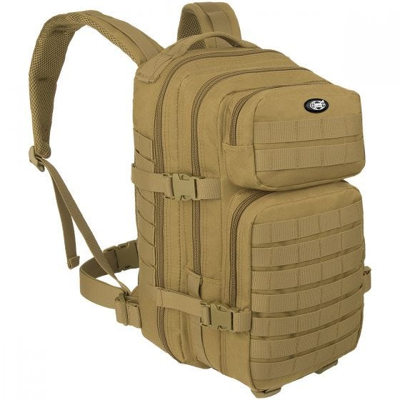 MFH Backpack Assault I Coyote Tan