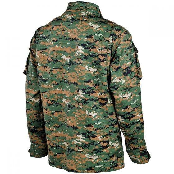 MFH ACU Ripstop Field Jacket Digital Woodland