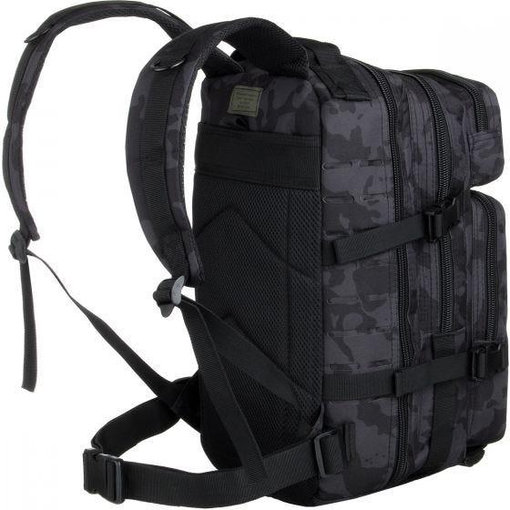 MFH Assault I Backpack Laser Night Camo