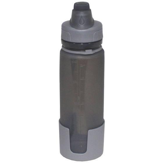 Fox Outdoor Foldable Drinking Bottle Grey
