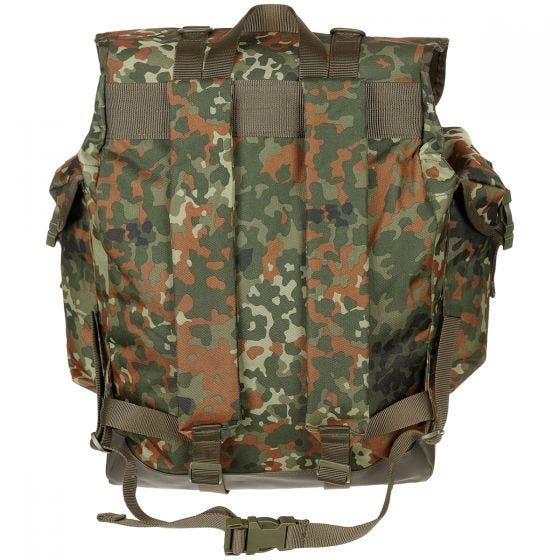 MFH German Army Mountain Rucksack Flecktarn