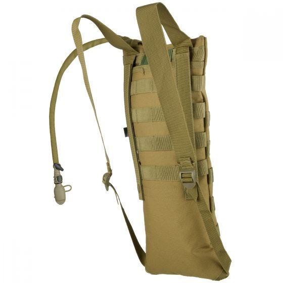 MFH Hydration Bladder and Carrier MOLLE Coyote