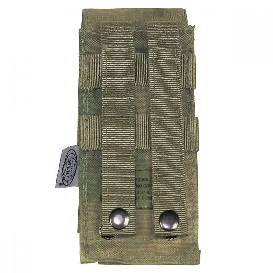 MFH Single M4/M16 Magazine Pouch MOLLE HDT Camo FG