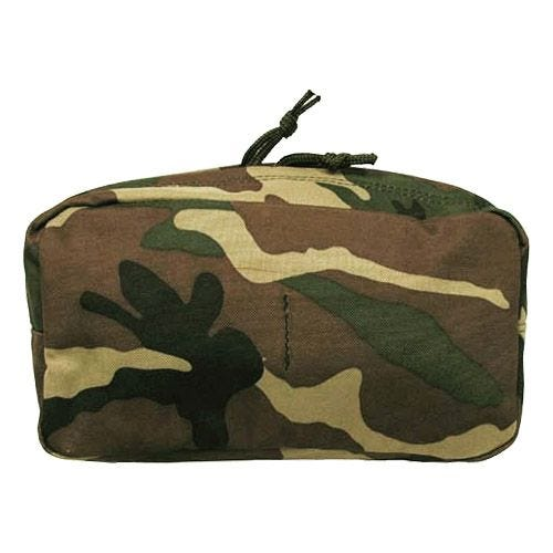 MFH Utility Pouch Large MOLLE Woodland