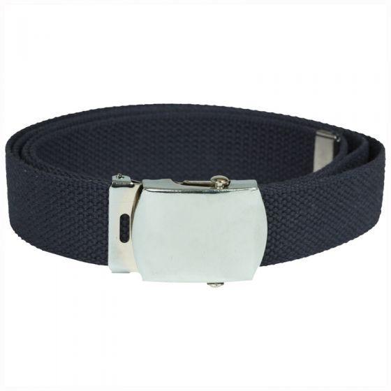 Mil-Tec Webbing Belt Navy Blue