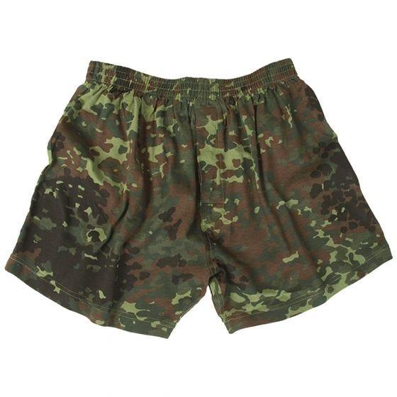 Mil-Tec Boxer Shorts Flecktarn