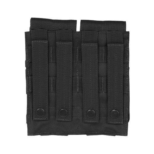Mil-Tec Double M4/M16 Magazine Pouch MOLLE Black