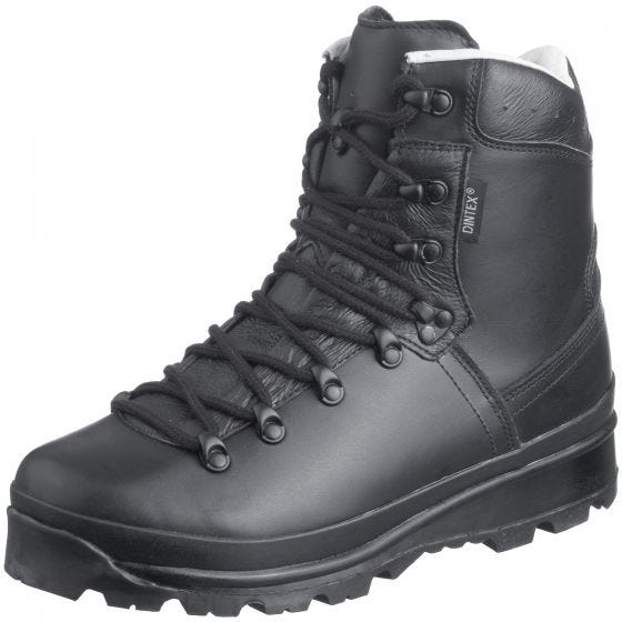 Mil-Tec German Army Mountain Boots Black