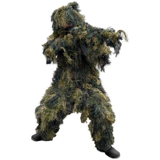 Mil-Tec Ghillie Suit 4 pcs. Woodland