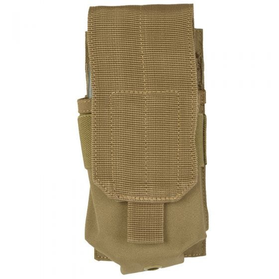 Mil-Tec Single M4/M16 Magazine Pouch MOLLE Coyote
