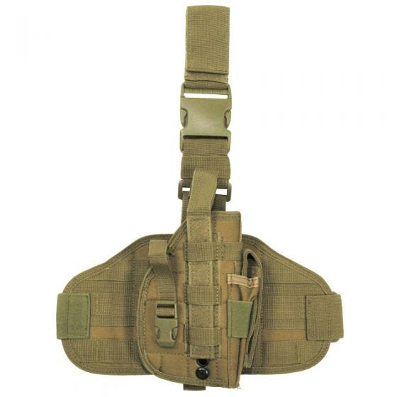 MFH Tactical Leg Holster MOLLE Coyote