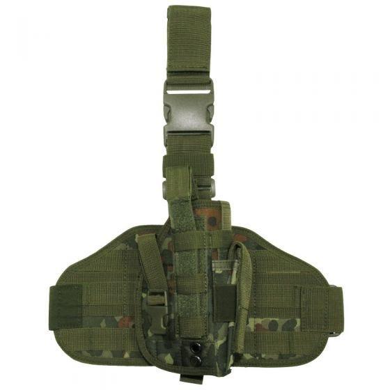 MFH Tactical Leg Holster MOLLE Flecktarn