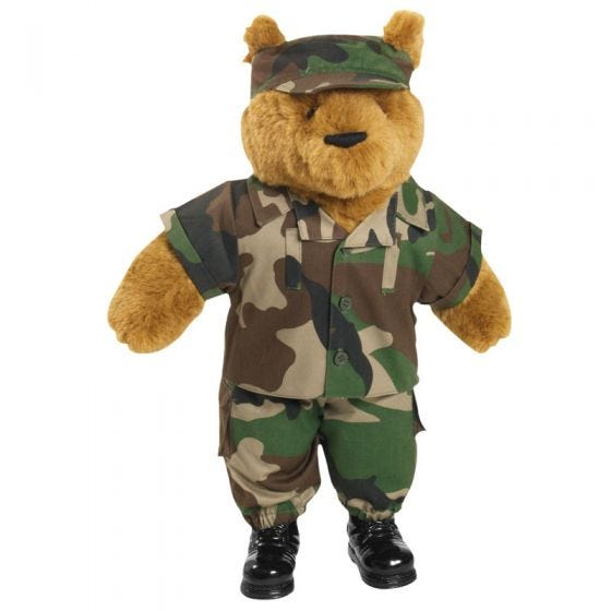 Mil-Tec Teddy Bear Suit Large CCE