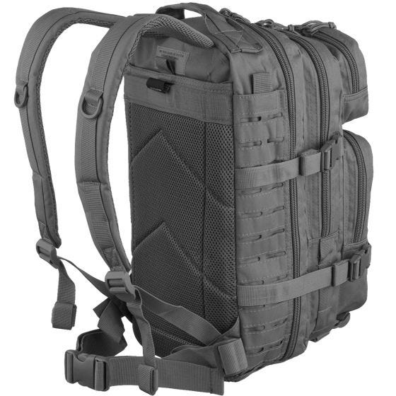 Mil-Tec US Assault Pack Small Laser Cut Urban Grey