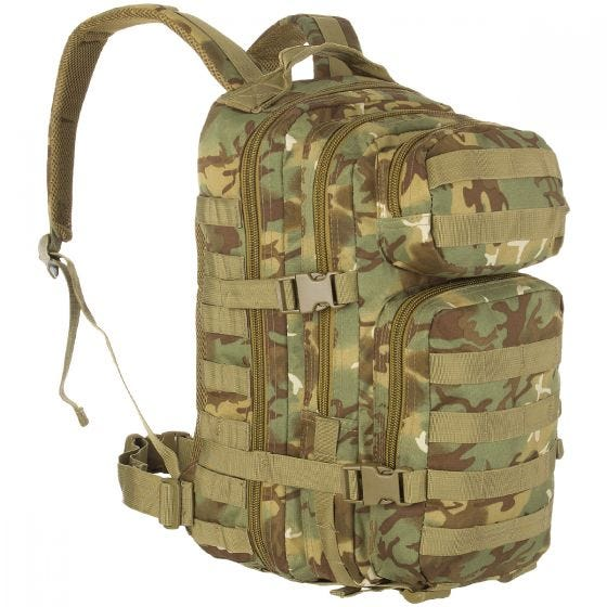 Mil-Tec MOLLE US Assault Pack Small Arid Woodland