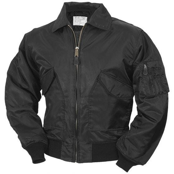 Surplus CWU Flight Jacket Black