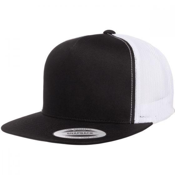 YP Classics Trucker 2-Tone Cap Black/White