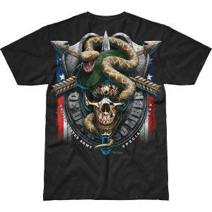 7.62 Design Army Special Forces Green Beret Battlespace T-Shirt Black