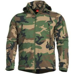 Pentagon Artaxes Softshell Jacket Woodland