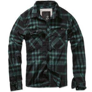 Brandit Check Shirt Fred Black / Green