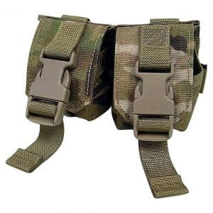 Flyye Double Fragmentation Grenade Pouch MultiCam