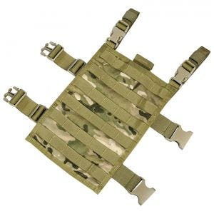Flyye Right-Angle Leg Panel MOLLE MultiCam