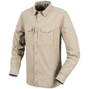 Helikon Defender Mk2 Tropical Shirt Long Sleeve Silver Mink