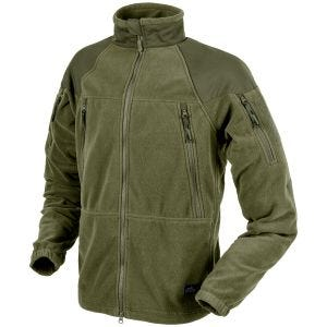 Helikon Stratus Heavy Fleece Jacket Olive Green