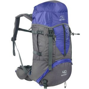Highlander Summit 40L Backpack Blue