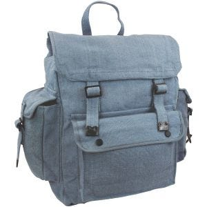 Highlander Large Pocketed Web Backpack RAF Blue