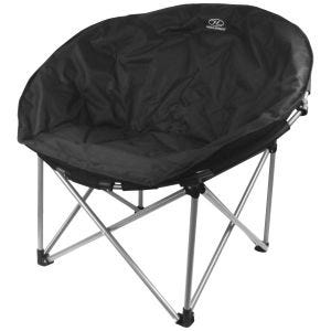 Highlander Deluxe Moon Chair Black