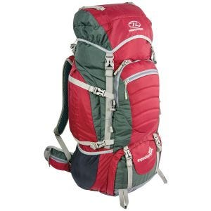 Highlander Expedition 65 Rucksack Red