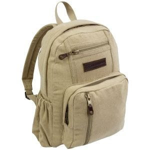 Highlander Salem Canvas 18L Backpack Beige