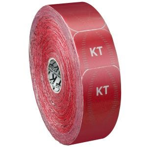 KT Tape Jumbo Synthetic Pro Precut Rage Red
