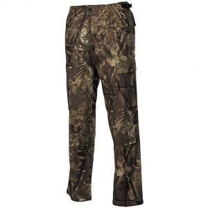 MFH BDU Combat Trousers Ripstop Hunter Brown