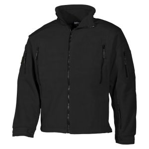 MFH Heavy Strike Fleece Jacket Black