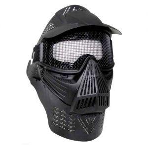 MFH Visual Protection Mask Paintball Black