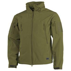 MFH Scorpion Soft Shell Jacket OD Green